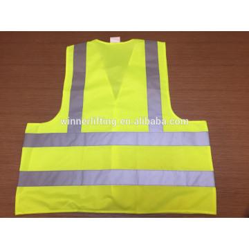 eco friendly safety vest with stripe