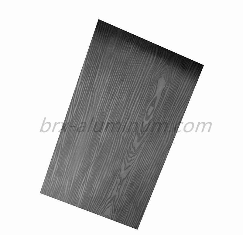 Wood Grain Aluminum Panel