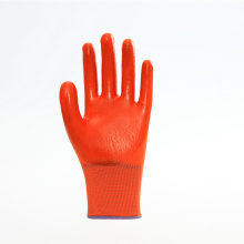 Non-slip Short Nitrile Flimsy Safety Gloves