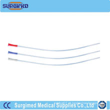 Cateter médico de PVC Nelaton