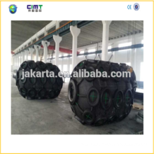 Yokohama Typemarine rubber fender with Galvanized Chain and Tyre made in china