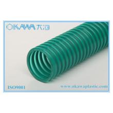 Tuyau d'aspiration sous vide en PVC renforcé en plastique dans un grand diamètre