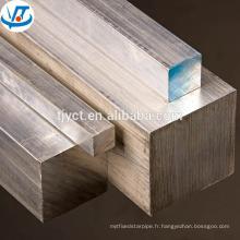 Barre carrée inoxidable lumineuse de la barre carrée AISI304 316 316L d'ASTM A276