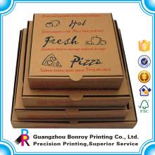 Chine Haute qualité personnalisé réutilisable boîte d'emballage de pizza Fabricant
