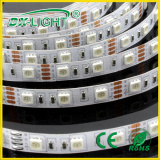 IP65 Silicon Waterproof 3 Chips 60 LEDs 5050 of LED Strip Light (RGB light)