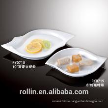 Keramik Material und Porzellan Keramik Typ benutzerdefinierte Abendessen Platte