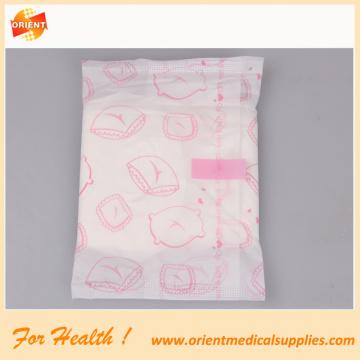 Serviette hygiénique féminine en coton à haute absorbance