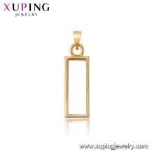 34122 xuping encanto de la venta caliente 18k joyería de oro colgante de las mujeres de moda
