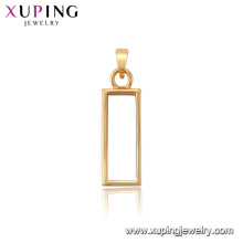34122 xuping hot sale charm 18k gold jewelry Fashion women pendant