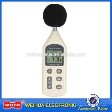 Medidor de nível de som Medidor de Ruído Portátil Mais Quente Medidor de Nível de Som WH1357
