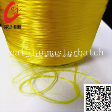 goldenes PET-Polyester-Seiden-Masterbatch