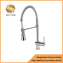 Modern Brass Kitchen Faucet (AOM-jbWL24701)
