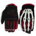 Lederhandschuhhandtasche des vollen Fingermotorradradsportmotorrades, die breathable Handschuhe des Sports trägt