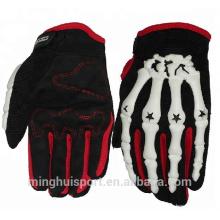 Plein doigt moto cyclisme moto en cuir gants de palme équitation sport respirant gants