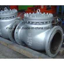 API Standard Cast Steel RF Swing Check Valve