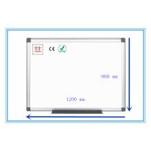 Twinco Whiteboard Stand Émail Panneau blanc Cadre en aluminium 1200 * 900mm