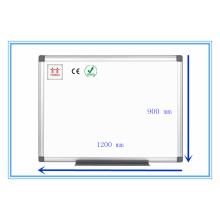 Twinco Whiteboard Stand Esmalte Quadro branco Moldura de alumínio 1200 * 900mm