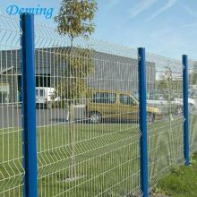 5.0mm Factory PVC Coated Fence With Square Post