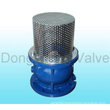 DIN Cast Iron Flanged Ends Foot Valve with Strainer