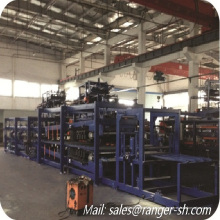 High quality EPS z-lock sandwich panel making machine/EPS Z-lock panel roll forming machine line