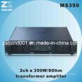 Профессиональный Loundspeaker аудио усилитель 350Вт (MS350)