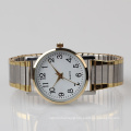 two tone plating quality watches, women watch stainless steel band