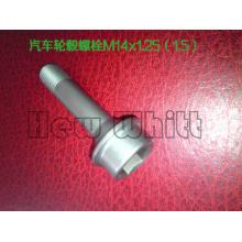 Titanium car wheel hub bolt
