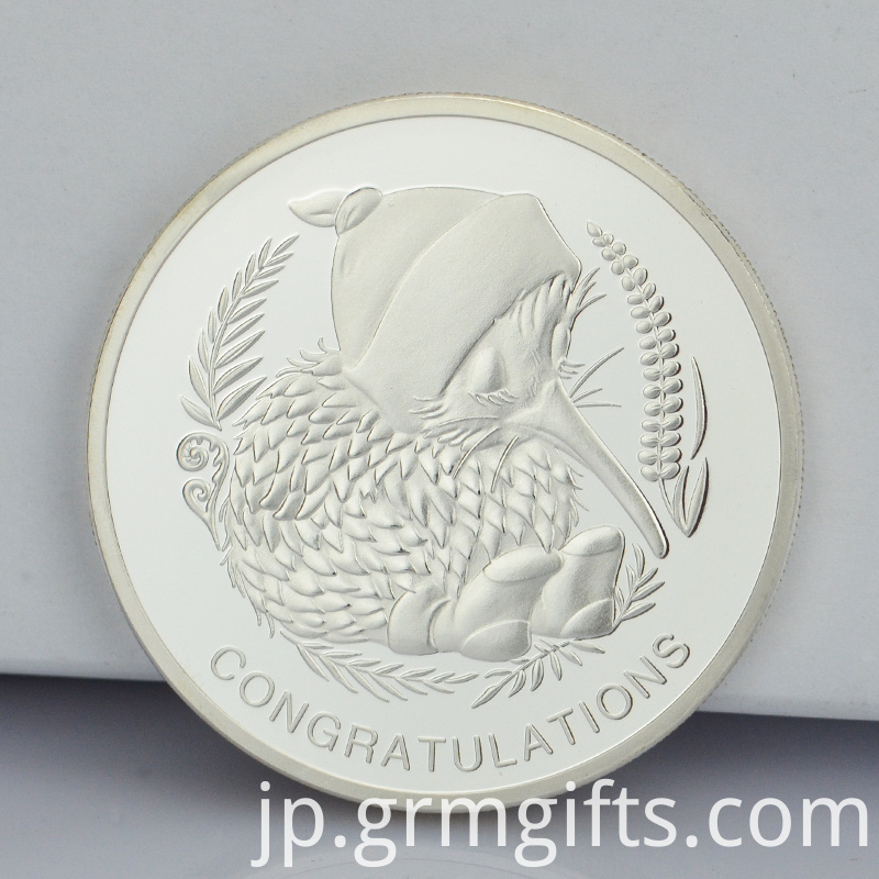 Good Quality Coin With Silver Plating