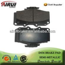 D436 Hochleistungs-Halbmetall-Bremsbelag für Toyota Pickup