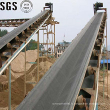 Bande de conveyeur de corde en acier de résistance d'abrasion pour l'usine d'engrais