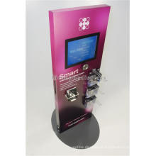 Qualidade Retail Store Video Stand Lcd Publicidade Display, Tabletop Backpack Lcd Publicidade Display