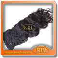 Hand Feeling grey hair Soft and smooth afro kinky curly clip in hair extensions
