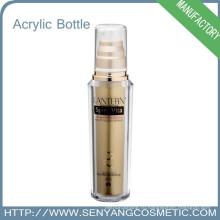 Бутылка печати шелковой ширмы упаковка роскошная красочная акриловая упаковка бутылка Оптовая акриловая бутылка косметическая