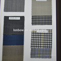 Tailors favorite style check 100% wool super 100's jacket fabric in made to measure service