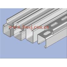 41 * 41mm 6 Longueur HDG Unistrut Channel Roll Machine formatrice Malaisie