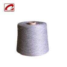 Fil à tricoter en coton mélangé à motif teint