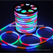 waterproof led neon flex led flex tube warm/cool white/R/G/B/RGB led neon rope light