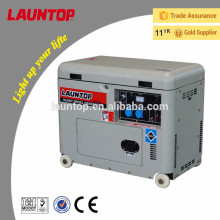4.5kw New Design silent diesel generator with 4-stroke,air-cooled, single-cylinder engine