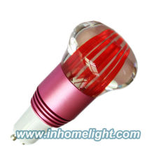 RVB Led lampe de décoration lampe spot 1 * 3W