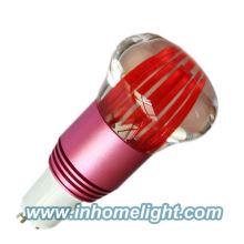 RGB Lâmpada de decoração Led levou luz spot 1 * 3W