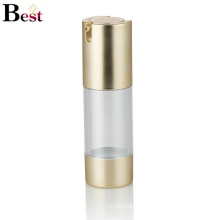 alibaba best sellers 30ml golden luxury airless lotion bottle pump bottle for cream, lotion, foundation liquid