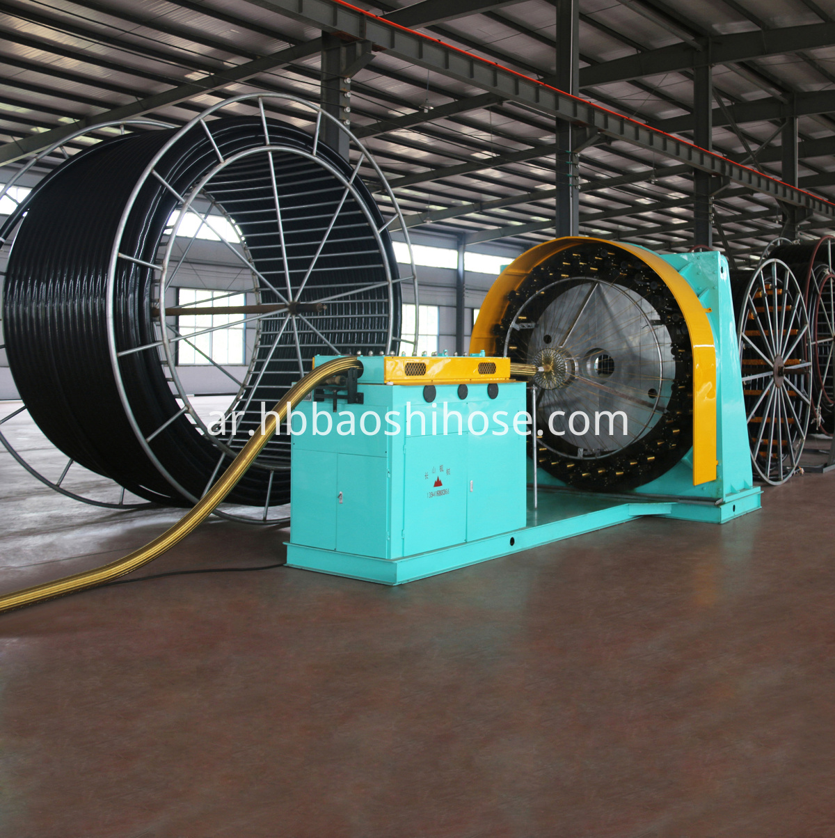 HDPE Braided Composite Pipeline