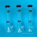 Tubes d'eau en verre recyclés de 13 pouces
