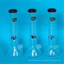 Tubos de água de cachimbo de fumo de vidro colorido nova chegada para tabaco