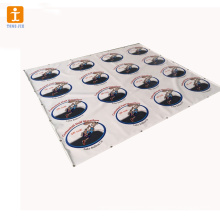 High quality removable floor graphics stickers