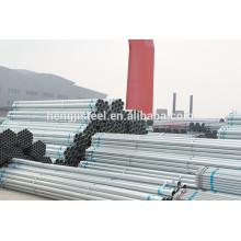 Tubo de aço galvanizado a quente de 1,5 polegadas