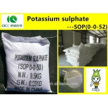 NPK / Engrais / SOP (0-0-52) / Sulfate de potassium / Sulfate de potasse, haute qualité -lq