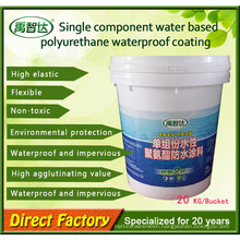 Liquid Coating/Single Component Polyurethane (PU) Waterproof Painting for Balcony