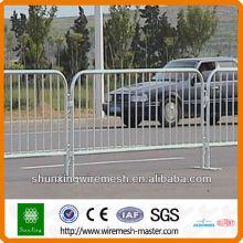 Road Crowd control barrier ( Dark green,white,blue)