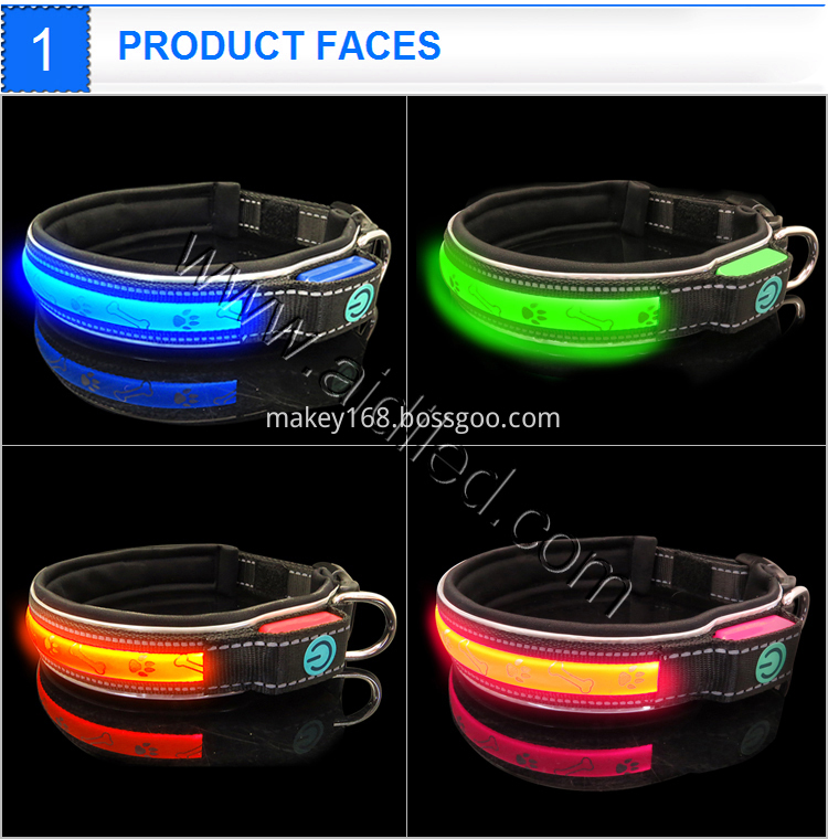 Necklace Led Safety Pet Collar